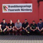 FFW Petersaurach Heißtraining in der Brandübungsanlage M.I.